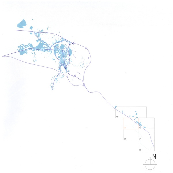 Plano guía urbano